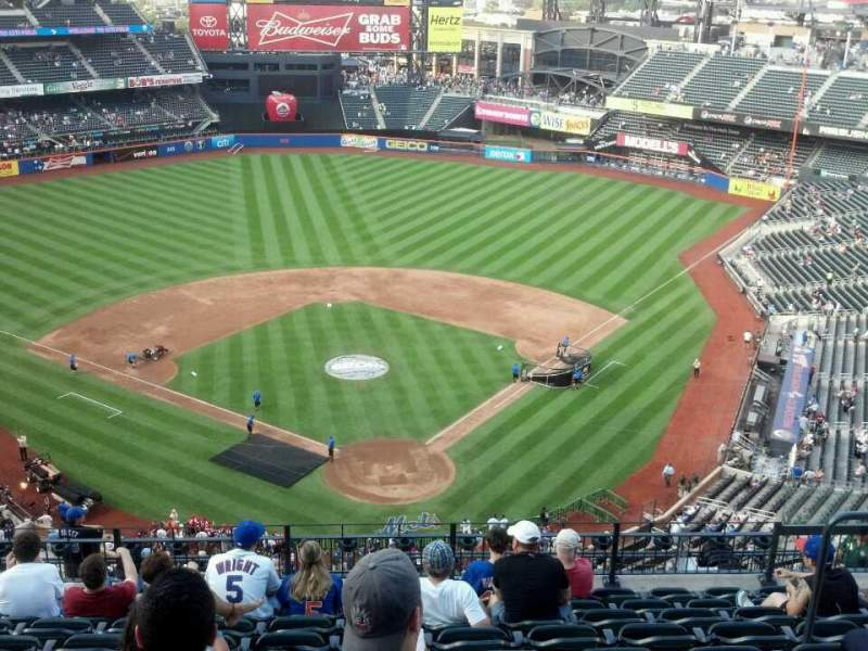 Seating view for Citi Field Section 515 Row 10 Seat 8
