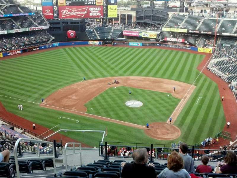 Seating view for Citi Field Section 517 Row 10 Seat 10