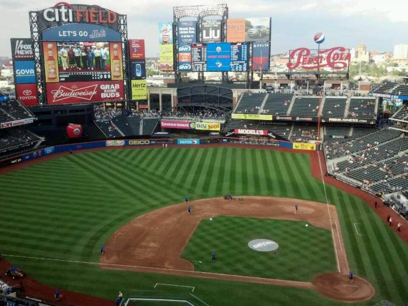 Seating view for Citi Field Section 519 Row 13 Seat 20