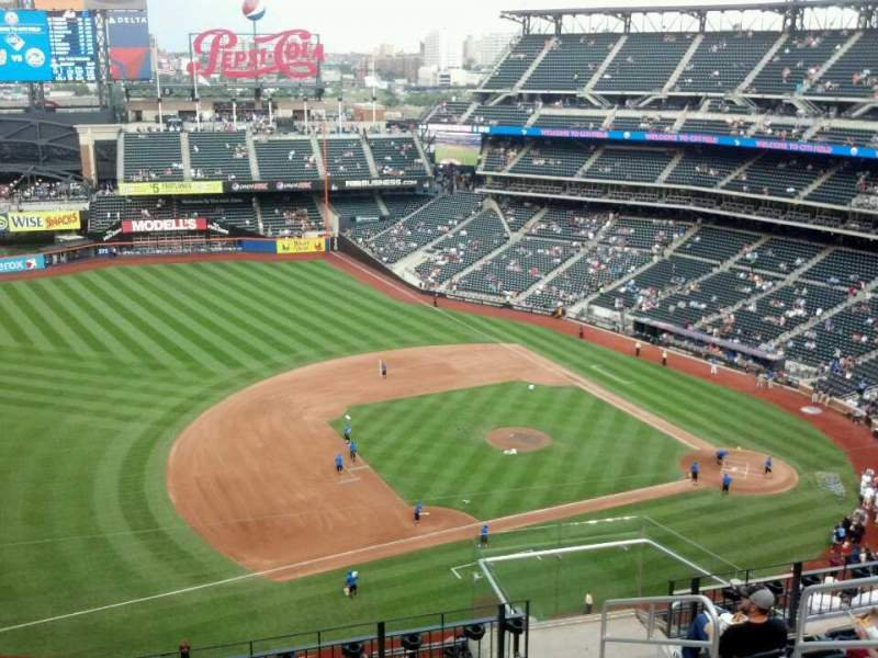 Seating view for Citi Field Section 523 Row 9 Seat 6