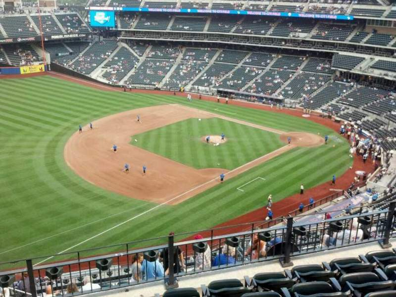 Seating view for Citi Field Section 525 Row 6 Seat 18