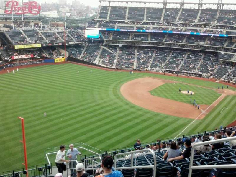 Seating view for Citi Field Section 529 Row 13 Seat 4