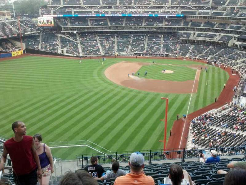 Seating view for Citi Field Section 531 Row 13 Seat 21