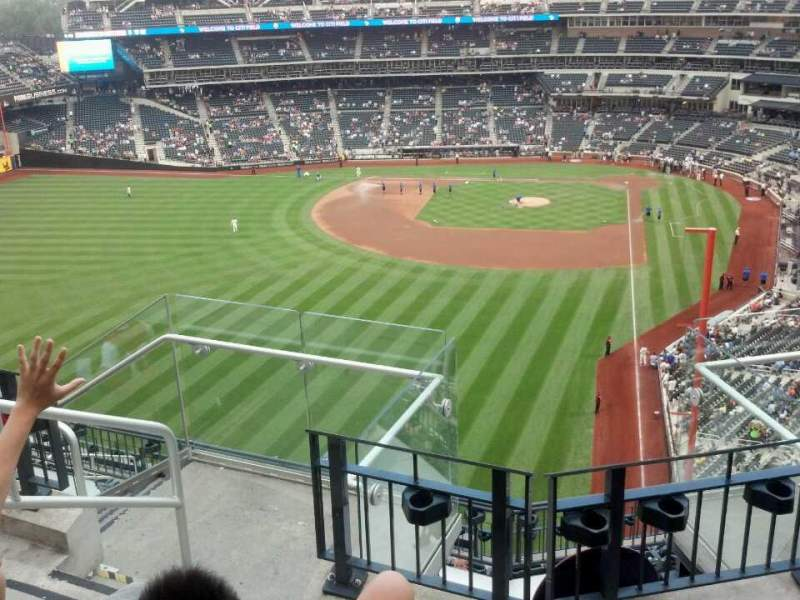 Seating view for Citi Field Section 532 Row 4 Seat 5