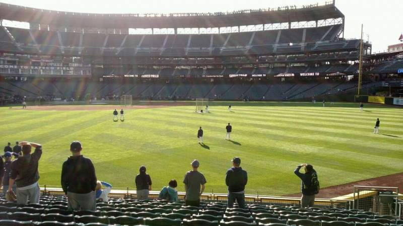 Seating view for Safeco Field Section 106 Row 33 Seat 7