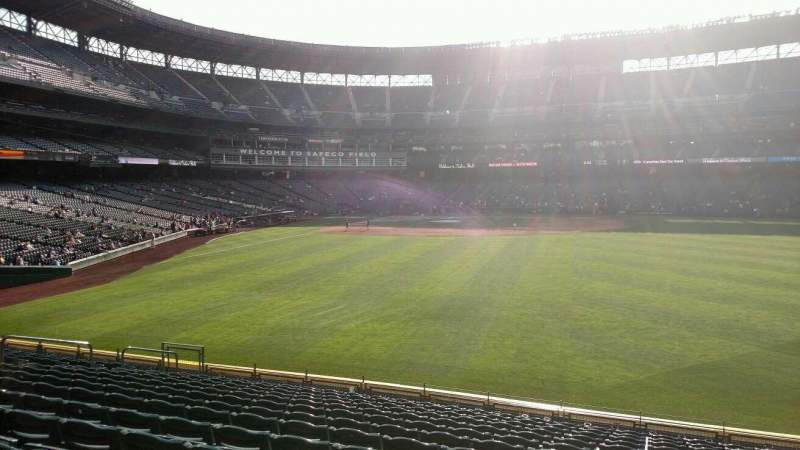 Seating view for Safeco Field Section 107 Row 36 Seat 5