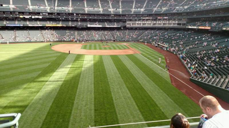 Seating view for Safeco Field Section 182 Row 3 Seat 24