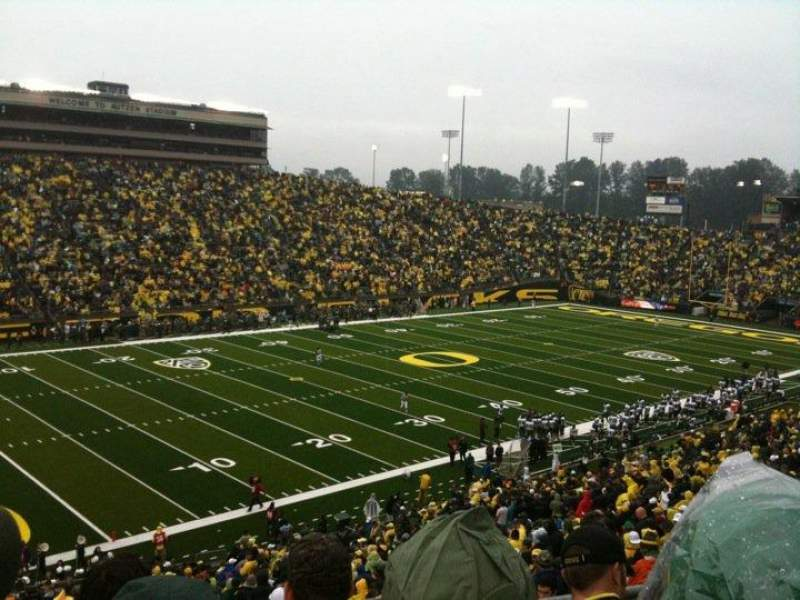 Seating view for Autzen Stadium Section 36 Row 48