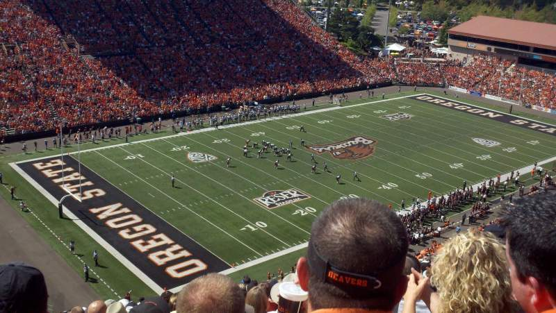 Seating view for Reser Stadium Section 226 Row 29 Seat 21