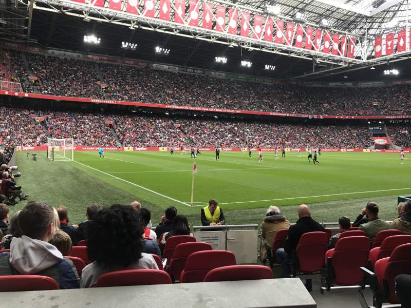 Seating view for Johan Cruyff Arena Section 110