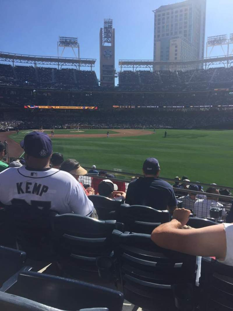 Seating view for PETCO Park Section 133