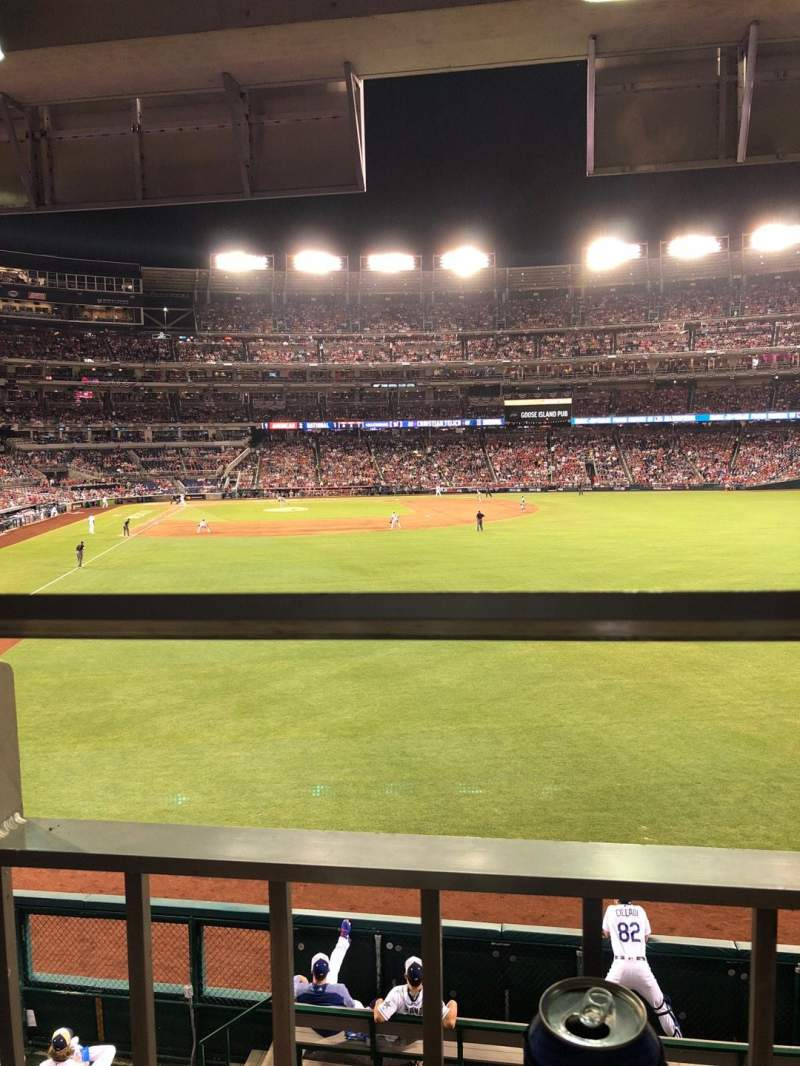 Nationals Park, section: 138, row: S, seat: 1