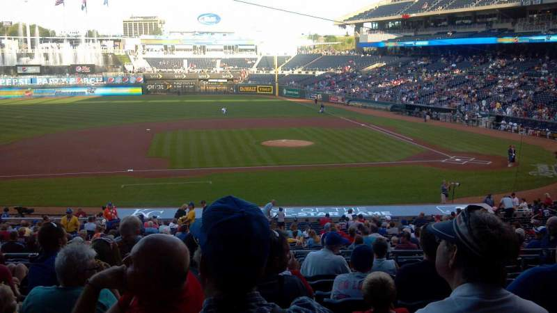 Seating view for Kauffman Stadium Section 221 Row JJ Seat 13