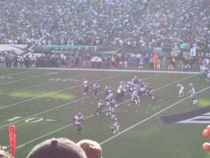 Seating view for Lincoln Financial Field Section 125 Row 30 Seat 19