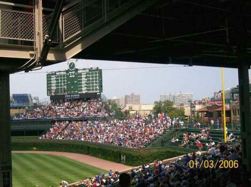 Seating view for Wrigley Field Section 236 Row 20 Seat 109