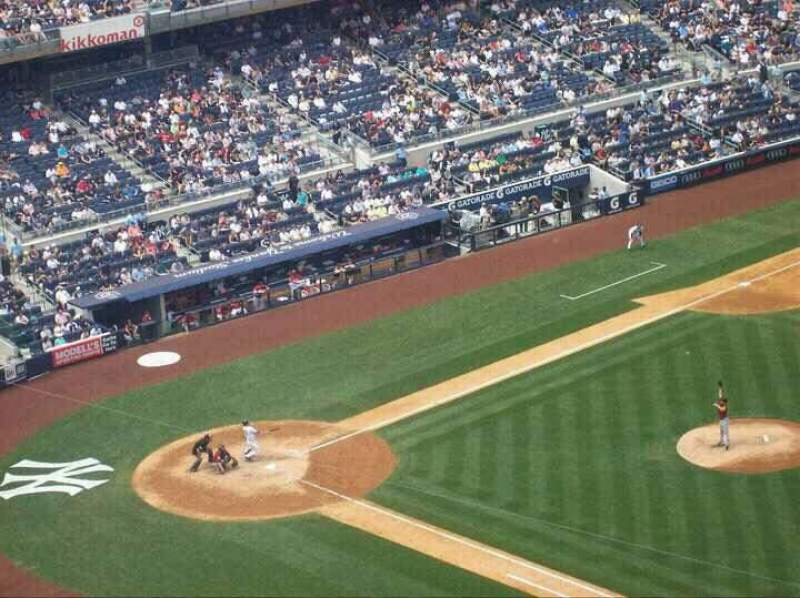 Seating view for Yankee Stadium Section 413 Row 8 Seat 5