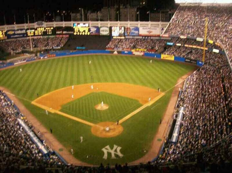 Seating view for Old Yankee Stadium Section TIER2 Row X Seat 14