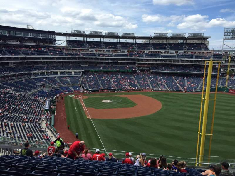 Seating view for Nationals Park Section 232 Row R Seat 9