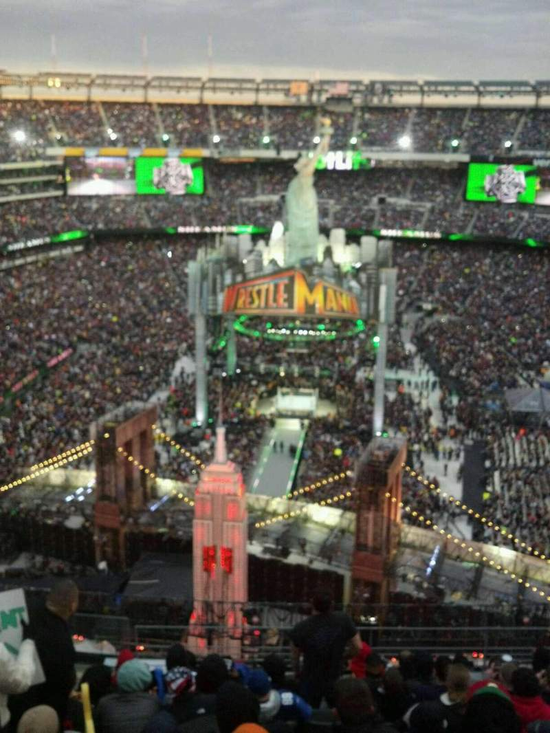 MetLife stadium, section 350, home of New York Jets, New ...