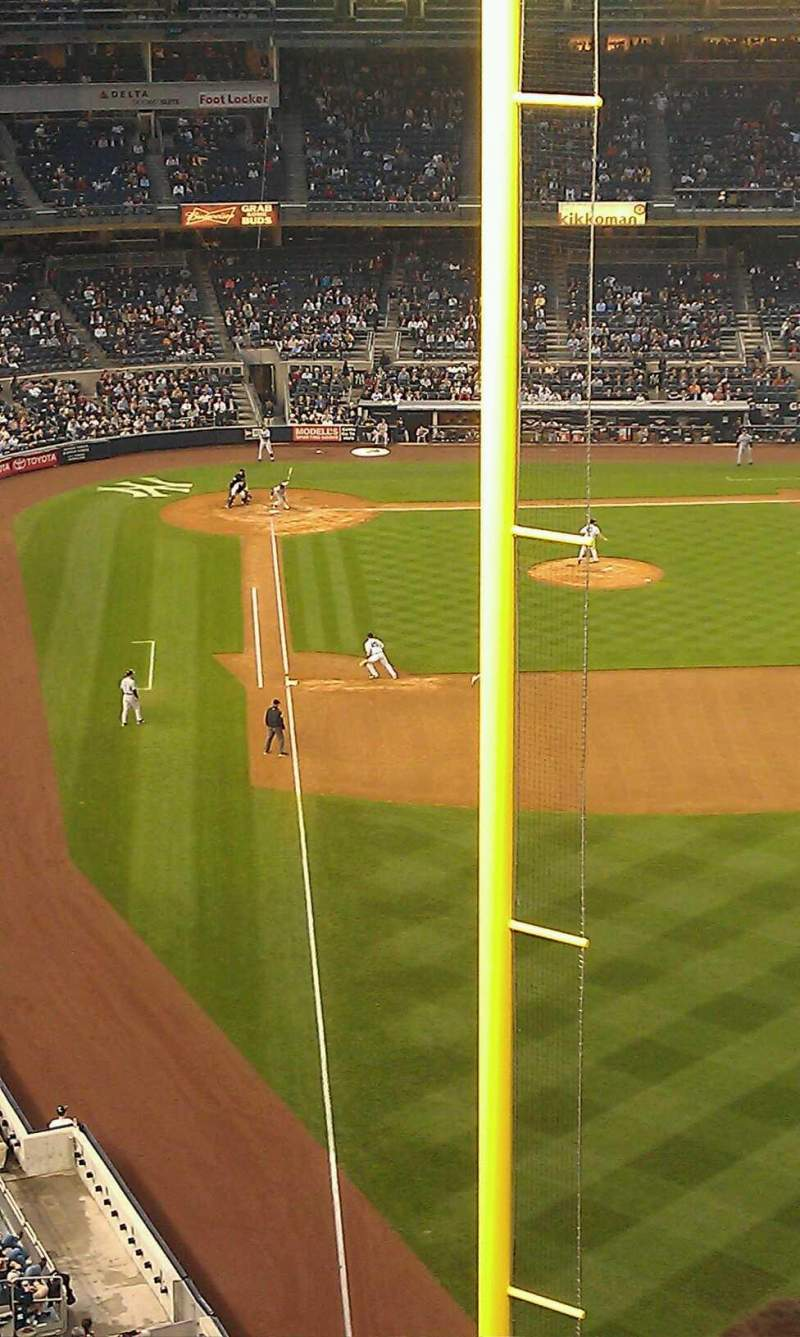 Seating view for Yankee Stadium Section 307 Row 6 Seat 8