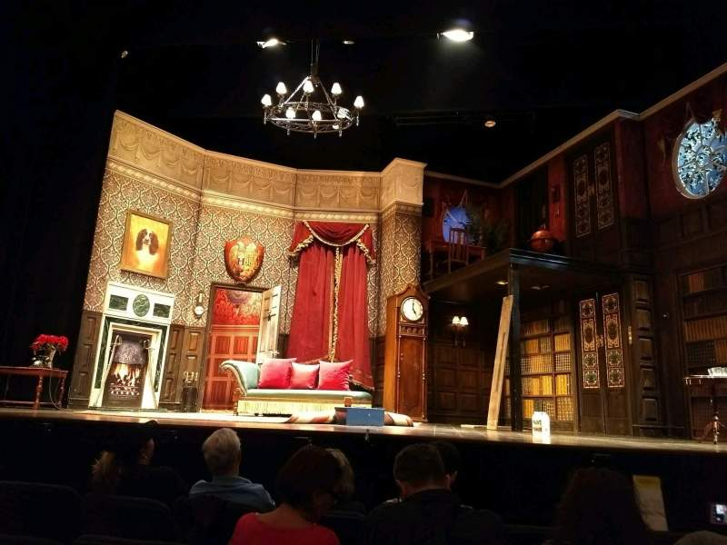 Seating view for Lyceum Theatre (Broadway) Section Orchestra C Row D Seat 106