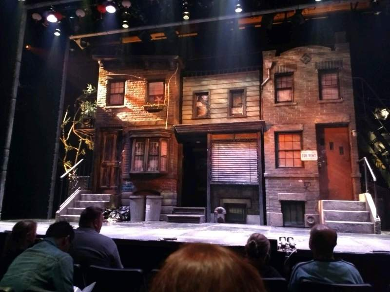Seating view for New World Stages - Stage 3 Section orch Row D Seat 116