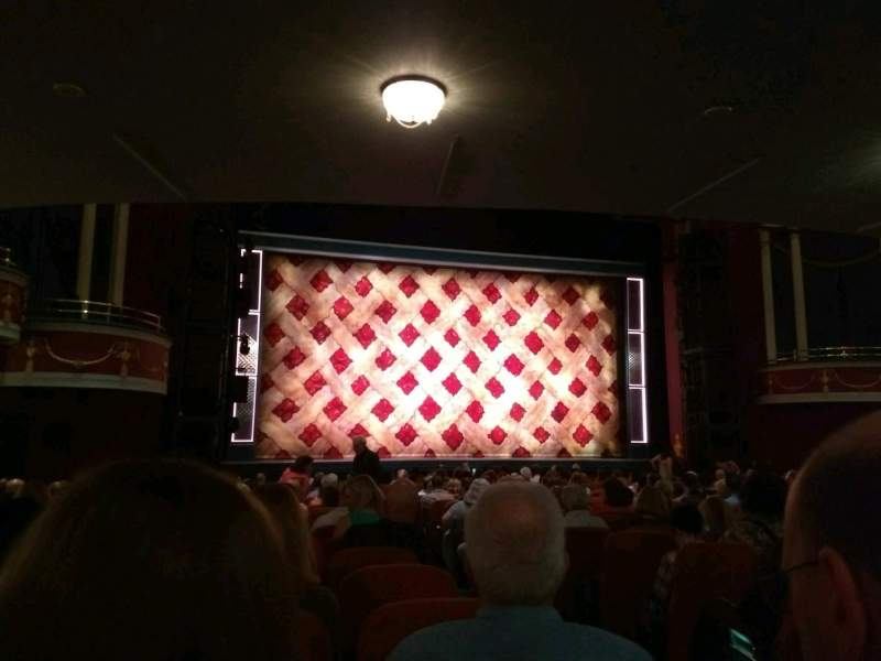 Seating view for National Theatre (DC) Section orch left Row t Seat 3