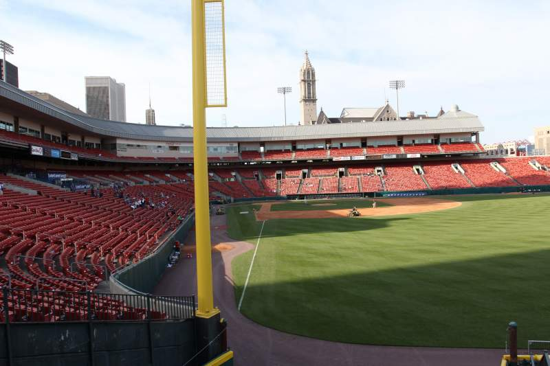 Seating view for Coca-Cola Field Section Party Deck