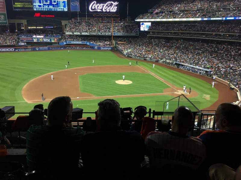 Seating view for Citi Field Section 327 Row 6 Seat 4