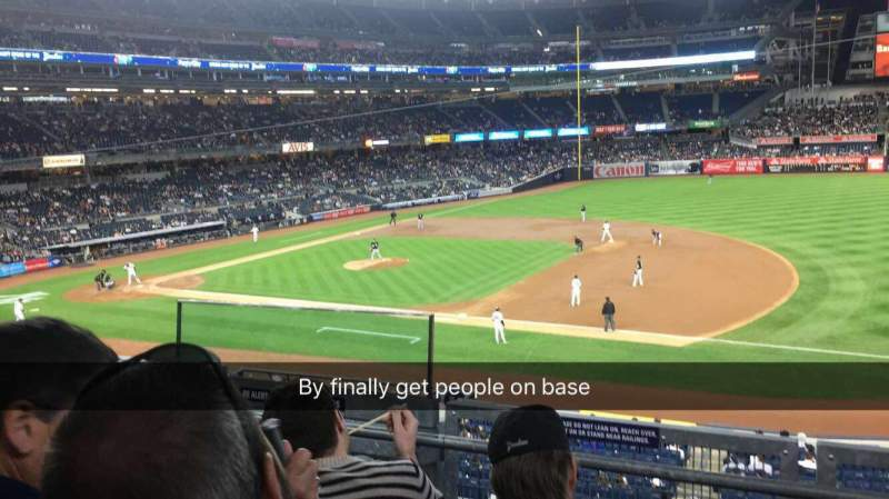 Seating view for Yankee Stadium Section 214a Row 3 Seat 9