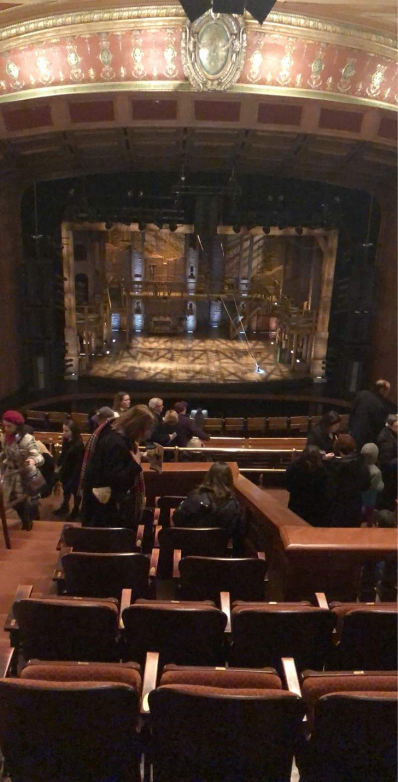 Seating view for Benedum Center Section First Tier C Row J Seat 102