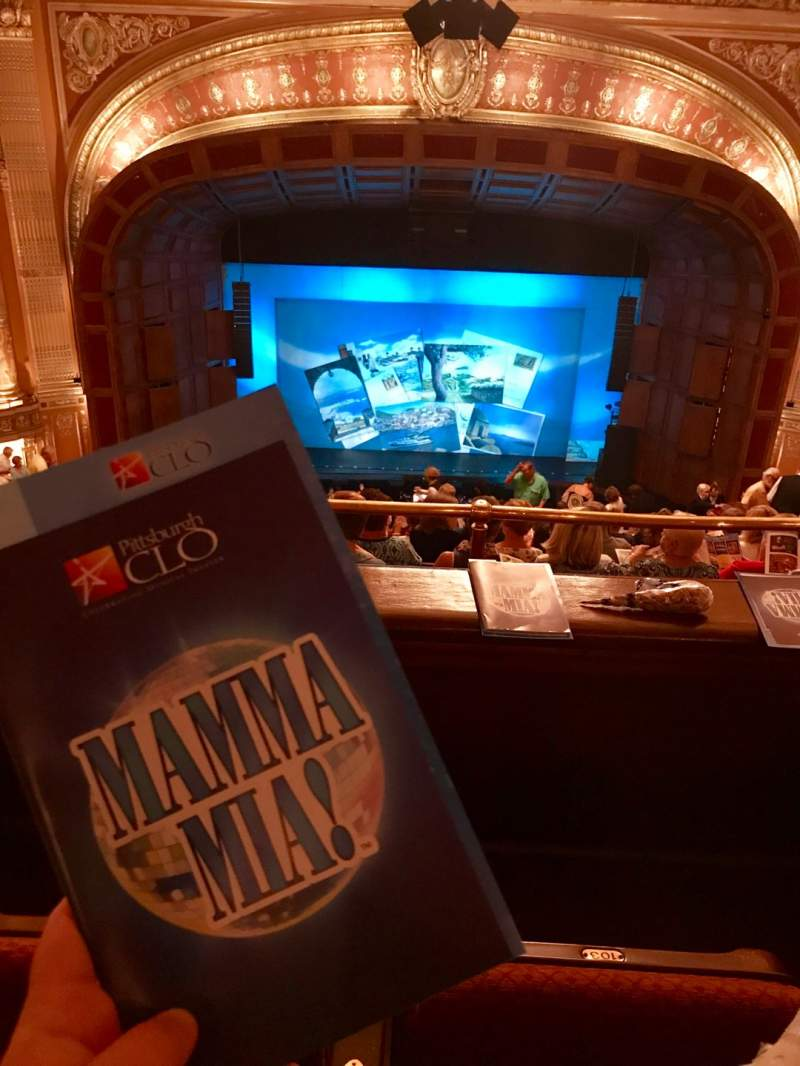 Seating view for Benedum Center Section Second Tier C Row N Seat 102