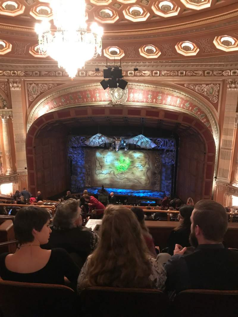 Seating view for Benedum Center Section Second Tier RC Row Q Seat 24