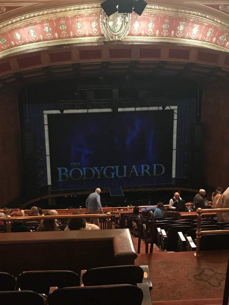 Seating view for Benedum Center Section Second Tier LC Row Q Seat 23