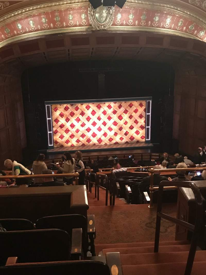Seating view for Benedum Center Section Second Tier LC Row Q Seat 21