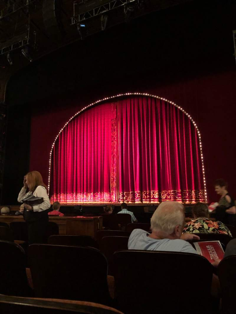 Seating view for Benedum Center Section Orchestra RC Row F Seat 28