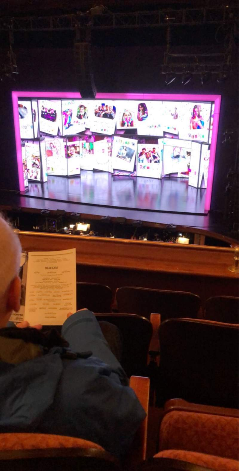 Seating view for Benedum Center Section DIR-RCTR Row DD Seat 32