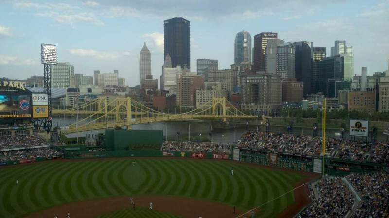 Seating view for PNC Park Section 318 Row M Seat 13