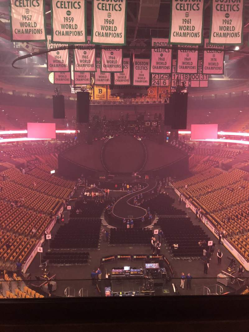 TD Garden, section: Bal 309, row: 3, seat: 1