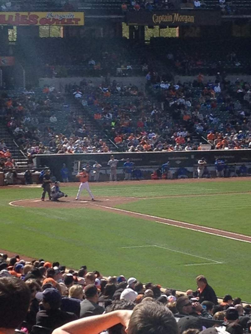 Seating view for Oriole Park at Camden Yards Section 10 Row 26 Seat 18