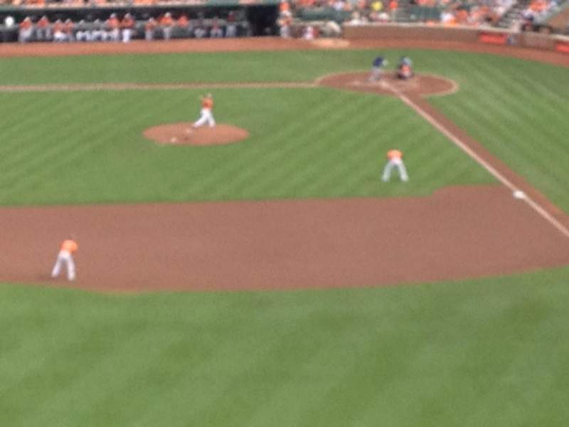 Seating view for Oriole Park at Camden Yards Section 384 Row 15 Seat 18