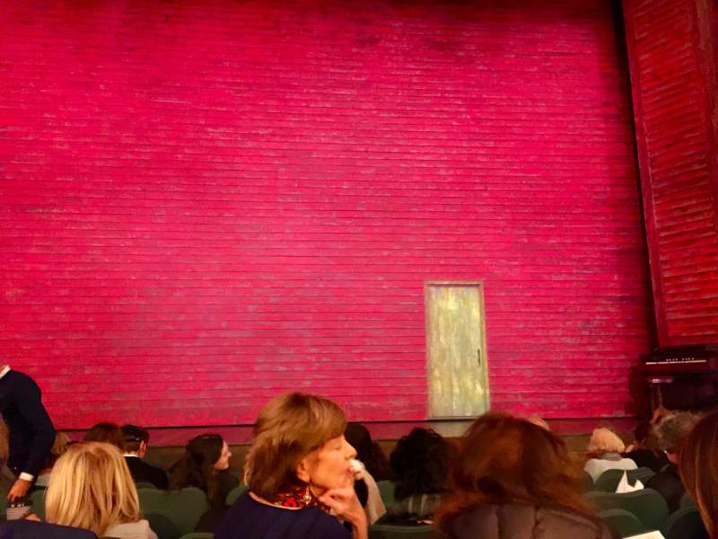 Seating view for Shubert Theatre Section Orchestra C Row J Seat 108