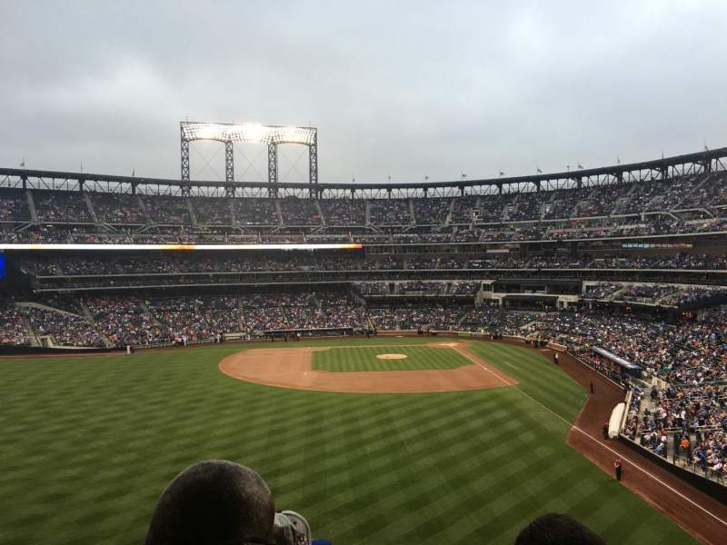 Seating view for Citi Field Section 334