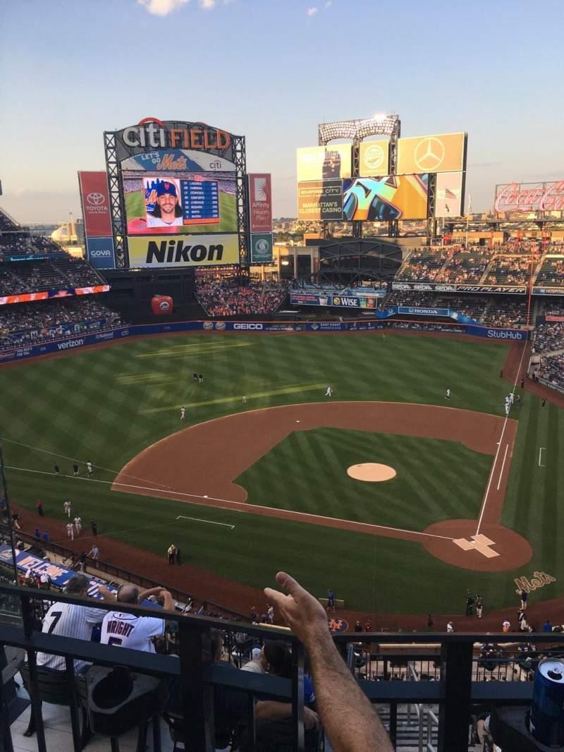 Citi Field, section: 518, row: 2, seat: 12