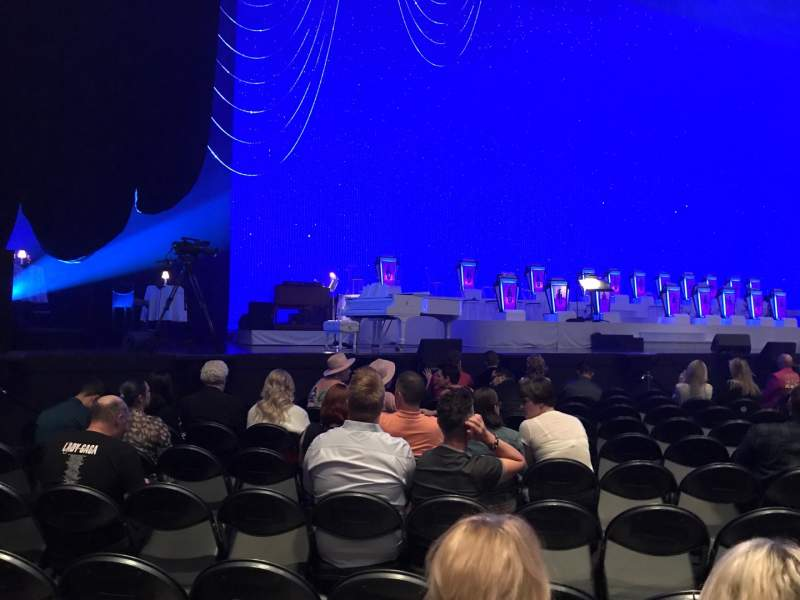 Seating view for Park Theater at Park MGM Section 103 Row L Seat 13