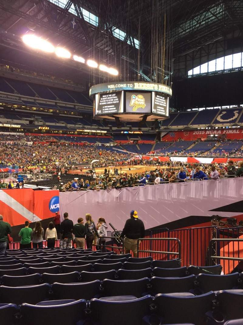 Seating view for Lucas Oil Stadium Section 121 Row 20 Seat 7