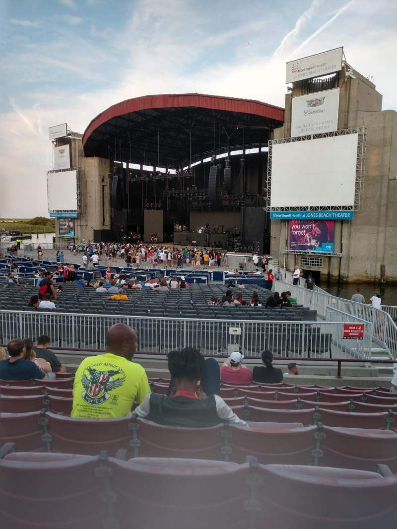 Seating view for Jones beach theater Section 3L Row J Seat 2