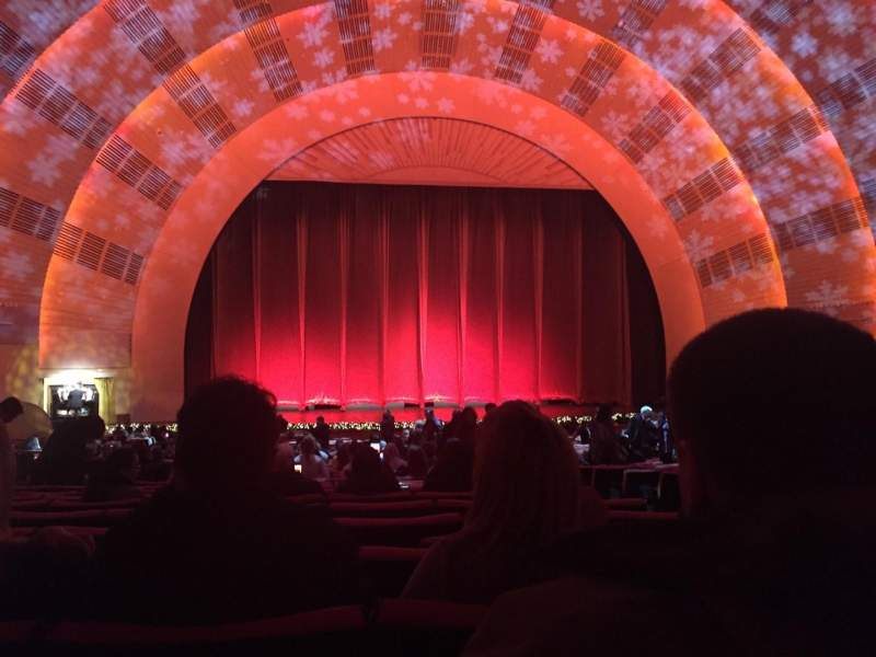 Seating view for Radio City Music Hall Section Orchestra 5 Row O Seat 504