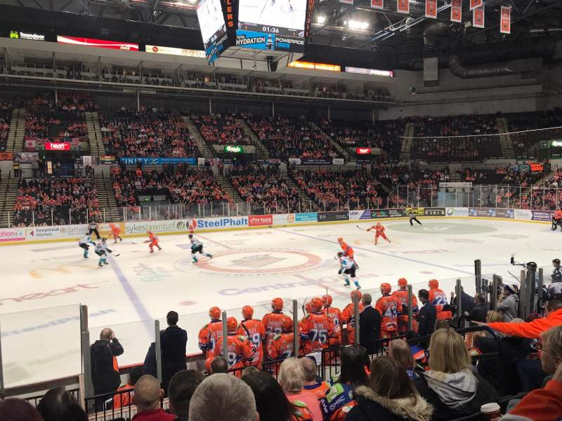 Seating view for FlyDSA Arena Section 103 Row L Seat 10