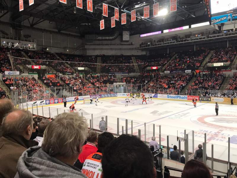 Seating view for FlyDSA Arena Section 117 Row N Seat 21